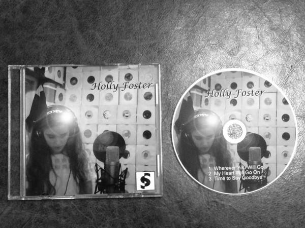 The Shift Studios - CD Example B&W
