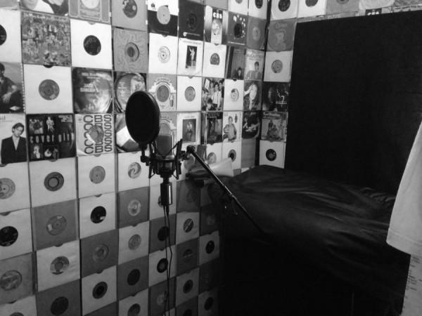 The Shift Studios - Recording Studio - Lancashire - Vocal Booth B&W